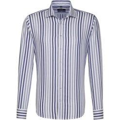 Koszule męskie na spinki: Koszula – Tailored – w kolorze biało-niebieskim