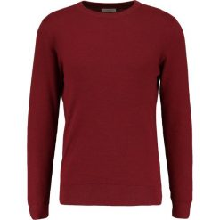 Swetry klasyczne męskie: Selected Homme SHDDAMIAN CAMP CREW NECK Sweter tawny port