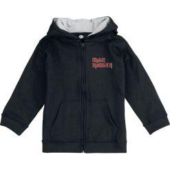 Iron Maiden The Trooper Bluza z kapturem dziecięca - rozpinana czarny. Czarne bluzy męskie rozpinane Iron Maiden, z kapturem. Za 144,90 zł.