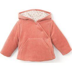 Odzież dziecięca: Welurowy sweter z kapturem 0 – 24 m-cy Oeko Tex