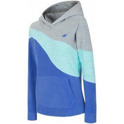 Bluzy polarowe: 4F Damska Bluza H4Z17 pld003 Jasny Szary Melanż S