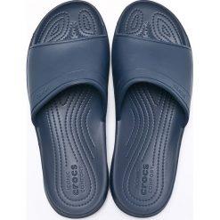 Crocs - Klapki. Niebieskie chodaki męskie Crocs, z materiału. W wyprzedaży za 79,90 zł.