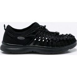Keen - Sandały. Czarne sandały męskie Keen, z gumy, z okrągłym noskiem, na sznurówki. W wyprzedaży za 239,90 zł.