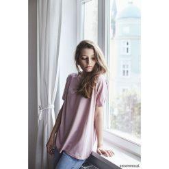 T-shirty damskie: RITA JASNY RÓŻ T-shirt