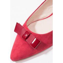 Baleriny damskie lakierowane: KIOMI Baleriny red