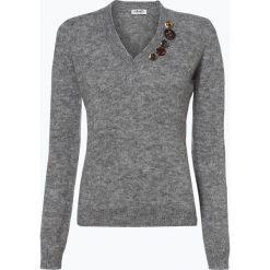 Liu Jo Collection - Sweter damski z dodatkiem alpaki, szary. Szare swetry klasyczne damskie Liu Jo Collection, m, z dzianiny. Za 799,95 zł.