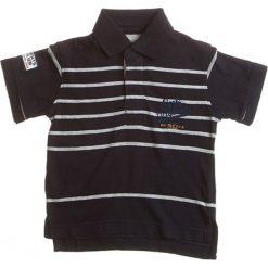 T-shirty chłopięce z krótkim rękawem: Koszulka polo w kolorze granatowo-szarym