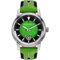 """Zegarki męskie: Zegarek kwarcowy """"Nereus"""" w kolorze zielono-srebrnym"""
