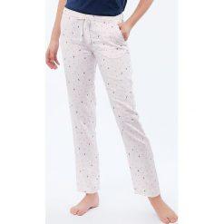 Etam - Spodnie piżamowe Sue. Niebieskie piżamy damskie marki Etam, l, z bawełny. Za 99,90 zł.