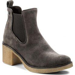 Botki LASOCKI - 7440-01 Szary. Niebieskie buty zimowe damskie marki Lasocki, ze skóry. Za 199,99 zł.