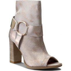 Buty zimowe damskie: Botki R.POLAŃSKI – 0824/L Róż Przec