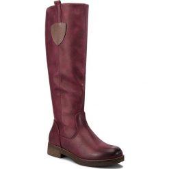 Oficerki CLARA BARSON - WS16368-1 Bordowy 1. Czerwone buty zimowe damskie marki Clara Barson, ze skóry ekologicznej. Za 139,99 zł.
