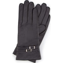 Rękawiczki damskie 39-6-573-1. Czarne rękawiczki damskie Wittchen. Za 99,00 zł.
