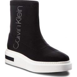 Sneakersy CALVIN KLEIN - Tristan E7509 Black/Black. Czarne sneakersy damskie Calvin Klein, z materiału. Za 719,00 zł.