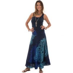 Spódnice wieczorowe: Spódnica w kolorze granatowo-turkusowym
