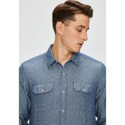 S. Oliver - Koszula. Szare koszule męskie na spinki S.Oliver, l, z bawełny, z klasycznym kołnierzykiem, z długim rękawem. Za 219,90 zł.