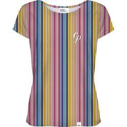 Colour Pleasure Koszulka damska CP-034 264 żółto-niebieska r. M/L. Bluzki asymetryczne Colour pleasure, l. Za 70,35 zł.