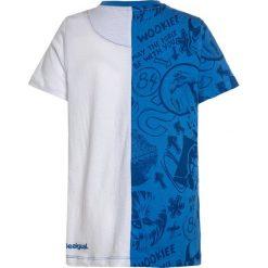 T-shirty chłopięce: Desigual DROIDE STAR WARS Tshirt z nadrukiem blue