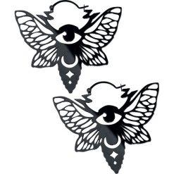 Wildcat Mystic Moth Kolczyki standard. Czarne kolczyki damskie Wildcat. Za 79,90 zł.