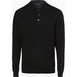 Andrew James - Sweter męski z dodatkiem kaszmiru, szary. Szare swetry klasyczne męskie Andrew James, l, z kaszmiru. Za 249,95 zł.