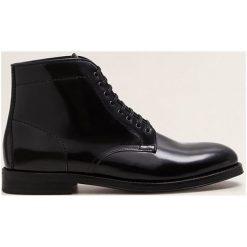Mango Man - Półbuty Charlie. Czarne buty wizytowe męskie Mango Man. Za 449,90 zł.