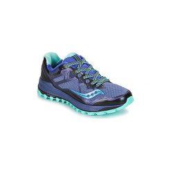 Buty do biegania Saucony  PEREGRINE. Fioletowe buty do biegania damskie marki KALENJI, z gumy. Za 589,00 zł.