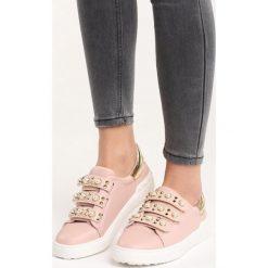 Różowe Buty Sportowe No Alibi. Czerwone buty sportowe damskie marki KALENJI, z gumy. Za 79,99 zł.