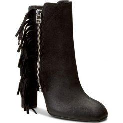 Botki GINO ROSSI - Naomi DBH154-T24-5700-9900-F 99. Czarne buty zimowe damskie Gino Rossi, z polaru. W wyprzedaży za 299,00 zł.