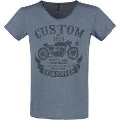 T-shirty męskie: Urban Surface Custom Classics T-Shirt niebieski
