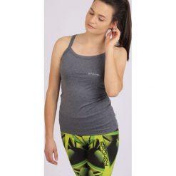 Bluzki asymetryczne: Spokey Koszulka Feel-Top fitness szara r. L (839530)