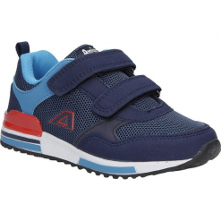 Granatowe buty sportowe na rzepy American 6. Szare buciki niemowlęce American, na rzepy. Za 69,99 zł.