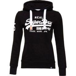 Bluzy damskie: Superdry VINTAGE LOGO MONO HOODIE Bluza z kapturem black