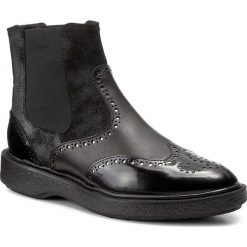 Sztyblety GEOX - D Prestyn D D745WD 038PV C9999 Black. Czarne buty zimowe damskie marki Geox, z gumy, eleganckie. W wyprzedaży za 289,00 zł.