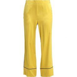 ASCENO BOTTOM Spodnie od piżamy yellow/black. Żółte piżamy damskie marki ASCENO, m, z jedwabiu. Za 989,00 zł.