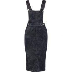 GStar Sukienka jeansowa blue denim. Białe sukienki marki G-Star, z nadrukiem. W wyprzedaży za 552,30 zł.