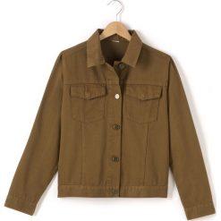 Koszulka polo. Brązowe bluzki dziewczęce bawełniane marki Reserved, l, z kapturem. Za 63,84 zł.