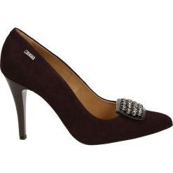 Czółenka - 2726 CAM AMAR. Brązowe buty ślubne damskie Venezia, ze skóry. Za 189,00 zł.