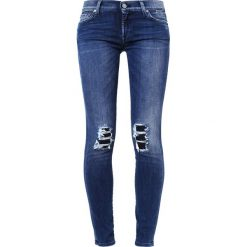 Rurki damskie: 7 for all mankind Jeans Skinny Fit lightblue denim