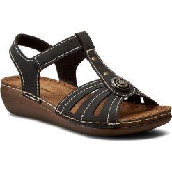 Rzymianki damskie: Sandały INBLU - CX11AQ15 Czarny