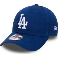 New Era - Czapka League Essential LA. Niebieskie czapki z daszkiem męskie New Era. W wyprzedaży za 84,90 zł.