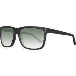 Okulary przeciwsłoneczne męskie: Okulary męskie w kolorze czarno-oliwkowym