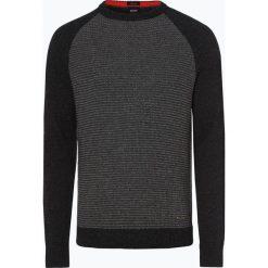 BOSS Casual - Sweter męski – Amicoso, szary. Szare swetry klasyczne męskie BOSS Casual, m. Za 549,95 zł.