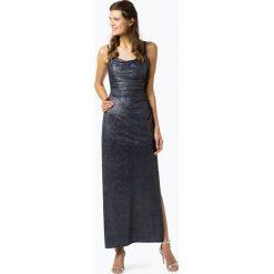 Marie Lund - Damska sukienka wieczorowa, niebieski. Czarne sukienki balowe marki bonprix, w paski, z dekoltem woda. Za 599,95 zł.