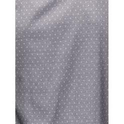 KOSZULA MĘSKA Z DŁUGIM RĘKAWEM K395 - GRAFITOWA. Brązowe koszule męskie na spinki marki Ombre Clothing, m, z aplikacjami, z kontrastowym kołnierzykiem, z długim rękawem. Za 49,00 zł.