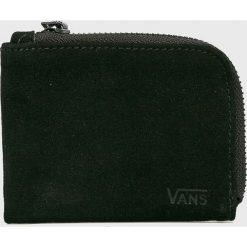 Vans - Portfel skórzany. Czarne portfele męskie marki Vans, z materiału. Za 149,90 zł.