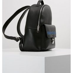 Calvin Klein Jeans SCULPTED BACKPACK Plecak black. Czarne plecaki damskie Calvin Klein Jeans, z jeansu. Za 699,00 zł.