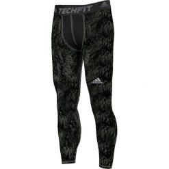 Bielizna męska: Adidas Legginsy Techfit Base Shards Graphic zielone r. XL (S94430)