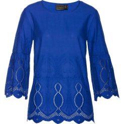 Bluzki damskie: Bluzka bonprix niebieski