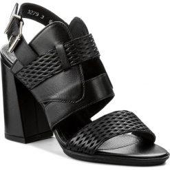 Rzymianki damskie: Sandały ANN MEX – 8678 01S Czarny Lico