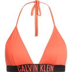 Stroje dwuczęściowe damskie: Calvin Klein Swimwear TRIANGLE Góra od bikini hot coral